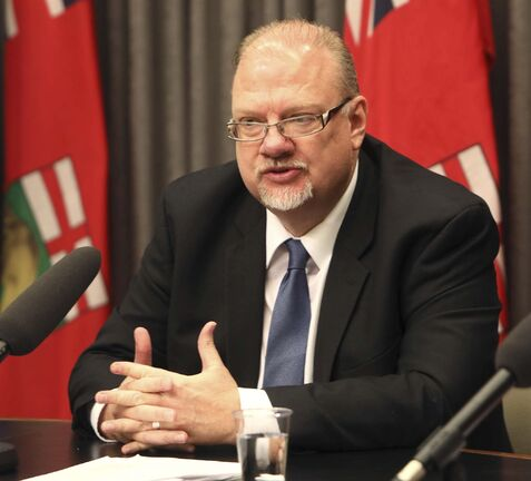 Manitoba's education minister Kelvin Goertzen told reporters that any school divisions that go over the province's suggested two per cent cap on property tax increases this year will be subject to extra administration cost cutbacks.