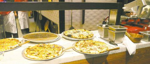 Shawn McClain's Five50 Pizza Bar at the Aria in Las Vegas offers mouth-watering pizza in an upbeat, lively setting.
