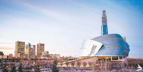 The Canadian Museum for Human Rights is a stunning new addition to the Winnipeg skyline.