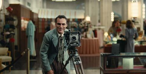 Joaquin Phoenix in Paul Thomas Anderson's The Master.