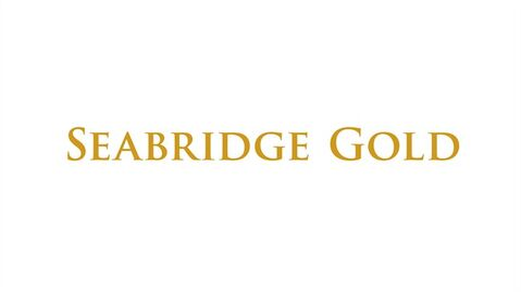 The logo for Seabridge Gold is shown. THE CANADIAN PRESS/HO