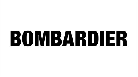 The logo of Bombardier is shown. THE CANADIAN PRESS/HO