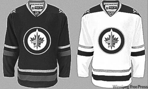 These jerseys are fake, according to the Winnipeg Jets.