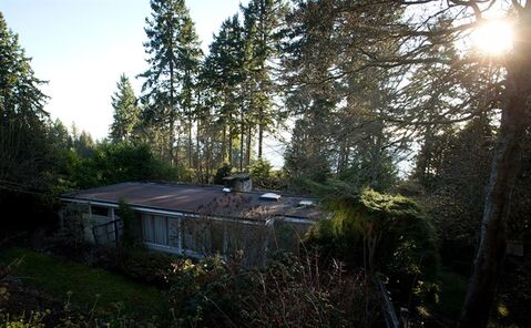 The Binning Residence national historic site is pictured in West Vancouver, B.C., on Friday January 24, 2014. THE CANADIAN PRESS/Darryl Dyck