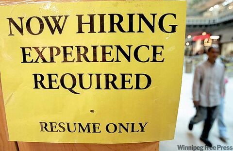 A falling index usually points to a tougher job market in the next few months.