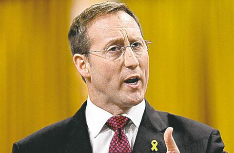 Defence Minister Peter MacKay responds to a question during question period in the House of Commons on Parliament Hill.