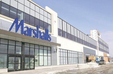 Winnipeg's first Marshalls store, in the Polo North development, is scheduled to open April 4.