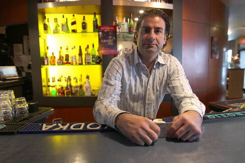 Nick Zifarelli (above), owner of Nicolino's  Restaurant and The Orbit Room