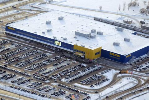 Ikea from the air.