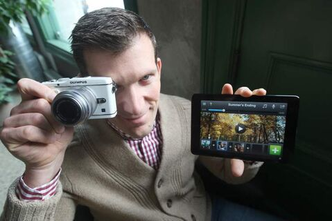 Kevin Hnatiuk developed Video Edit, which allows someone to edit videos taken with their smartphone.
