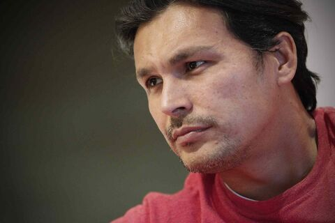 Adam Beach talks about about new ventures Bandwidth and Adam Beach Film Institute in Winnipeg.