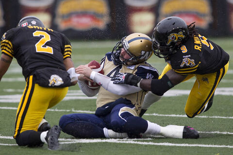 Winnipeg QB Buck Pierce has met with limited success in a Blue Bombers uniform.
