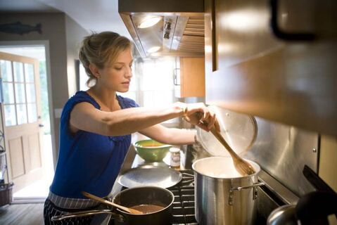 Pati Jinich was a Latin American policy analyst but spent all her spare time in the kitchen.