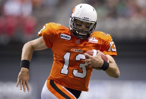 The Winnipeg Blue Bombers won't see B.C. Lions' quarterback Mike Reilly joining the Blue and Gold -- Reilly has signed with the Edmonton Eskimos.