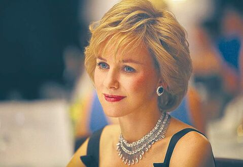 Naomi  Watts as Princess Diana.
