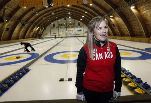Winnipeg curler Jennifer Jones was the lone Canadian athlete invited to an opening news conference to signal the beginning of the Olympic Games Thursday.