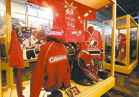 A large collection of memorabilia is on display at the Hall of Fame.