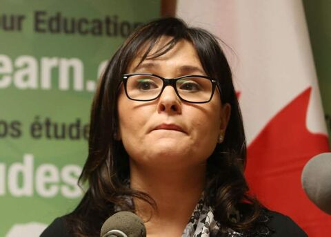 Tory minister Leona Aglukkaq says Chief Theresa Spence should meet with the government's aboriginal affairs minister. Spence refuses to meet with any government  official other than Prime Minister Stephen Harper.