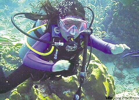 Jamie Hubka gets up close and personal with the underwater world.