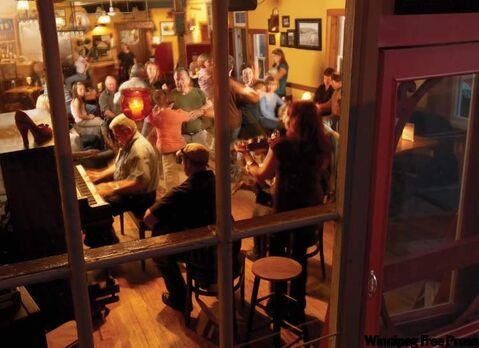 Ceilidh at The Red Shoe Pub in Mabou: It's a warm, relaxed place with pub food and regular live music.
