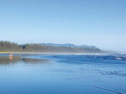 Long Beach, near Tofino, B.C., was the end point of our cross-Canada drive.