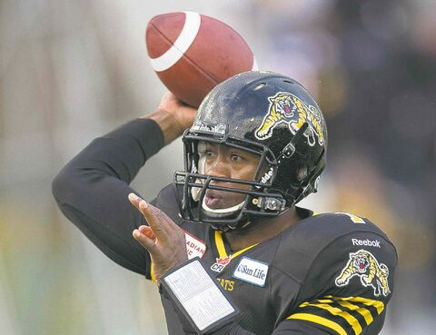 Hamilton Tiger-Cats quarterback Henry Burris would give the Blue an instant upgrade.