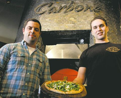 Carbone co-owners Daniel Simon (left) and Benjamin Nasberg are thrilled to be opening a downtown location. They will add to their Taylor Avenue outlet by opening a new restaurant on 260 St. Mary Ave. (below).