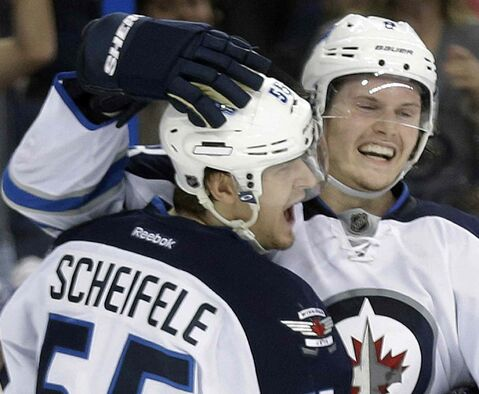 Winnipeg Jets centre Mark Scheifele and blue-liner Jacob Trouba are making a big impact in the NHL.