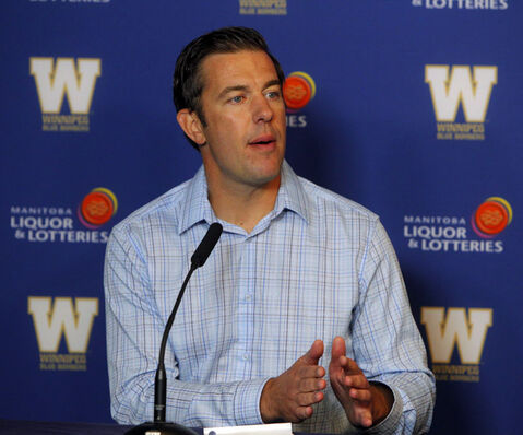The Bombers announced this morning Kyle Walters has been named the acting GM.