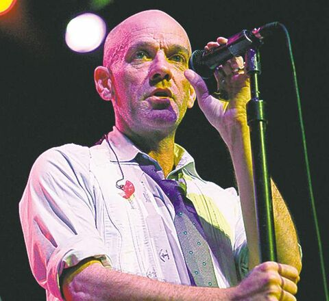 Michael Stipe, of R.E.M.