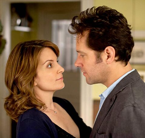 Tina Fey and Paul Rudd in Admission, which opens March 21.