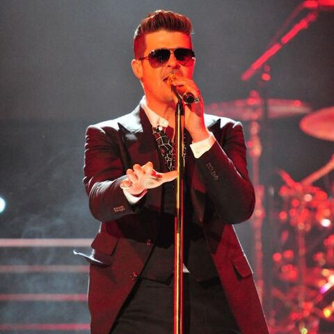 Robin Thicke will not perform at Sunday's Juno show in Winnipeg.