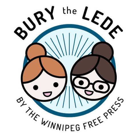 Bury the Lede hosts Erin Lebar and Jen Zoratti: They're basically Statler and Waldorf, but cuter.