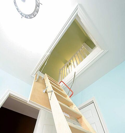 Ease of access to your attic will surely increase the probability of regular inspections.