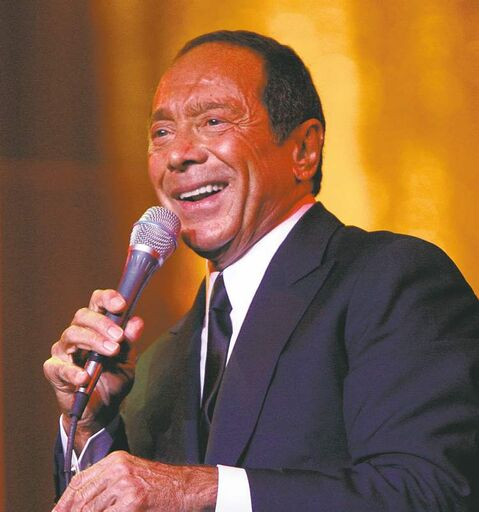 Legendary singer/songwriter Paul Anka.