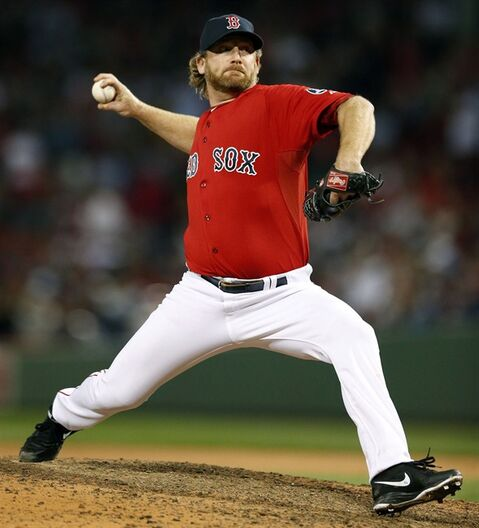 Boston Red Sox' Ryan Dempster is pictured Oct. 4, 2013, in BostonTHE CANADIAN PRESS/AP, Michael Dwyer