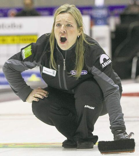 Cathy Overton-Clapham is planning a short-term move to Calgary to practice with her new team.