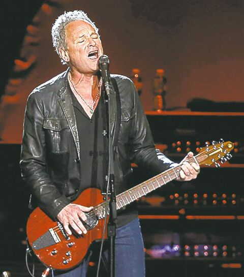 Guitarist Lindsey Buckingham.