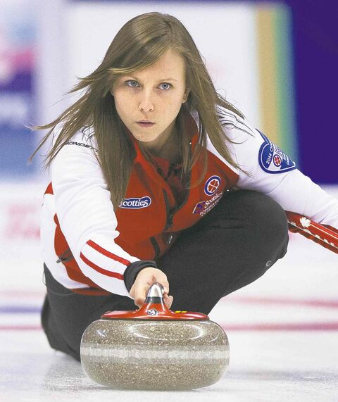 Rachel Homan earned a spot in Sunday's final with a win in the 1 vs. 2 game.