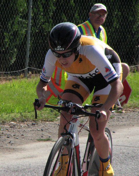 Karlee Gendron won the silver medal in cycling at the 2009 Canada Summer Games.