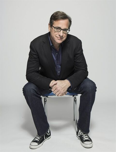 Bob Saget is shown in a handout photo. Saget, 58, has pushed his career forward with crass laughs in the years since he also played the host on