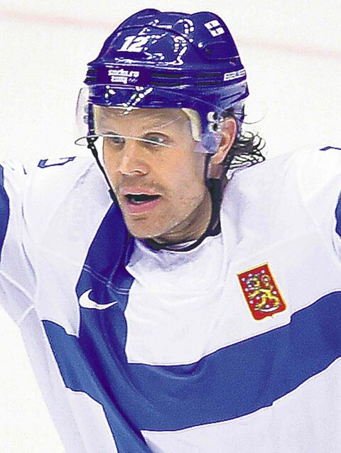 Olli Jokinen and the Finns have a semifinal date with Sweden.