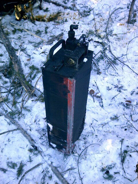The TSB of Canada released this photo of the plane's black box which was recovered this morning from the crash site in Red Lake.