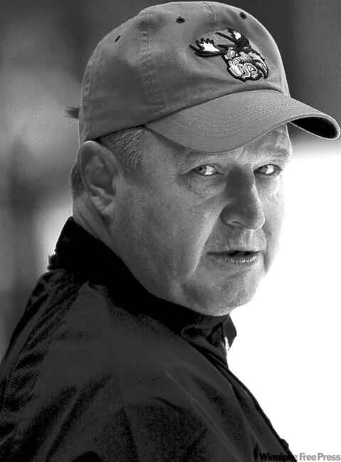 When Randy Carlyle, then Moose head coach, met Rypien for the first time, his reaction was: 'Come on, he's pencil-thin. I thought you said he was a tough kid.' He soon changed his view.