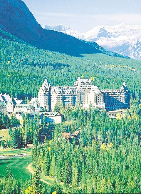 The Banff Springs Hotel is rumoured to have a ghostly bride that glides down staircases and dances in its ballroom, dressed in a flowing white gown.