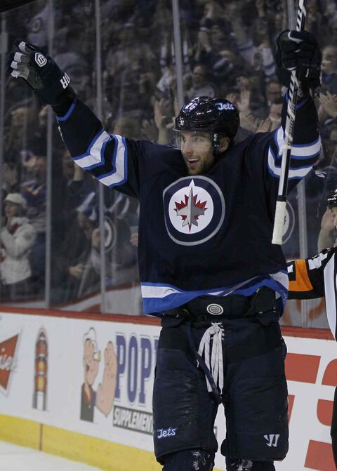 Winnipeg Jets' Blake Wheeler's