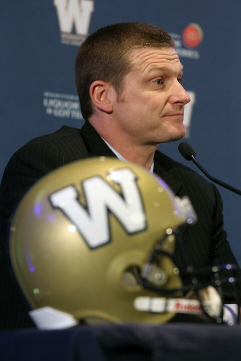 Winnipeg Blue Bombers new head coach Mike O'Shea.
