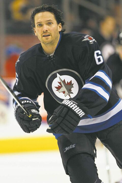 Winnipeg Jet Ron Hainsey