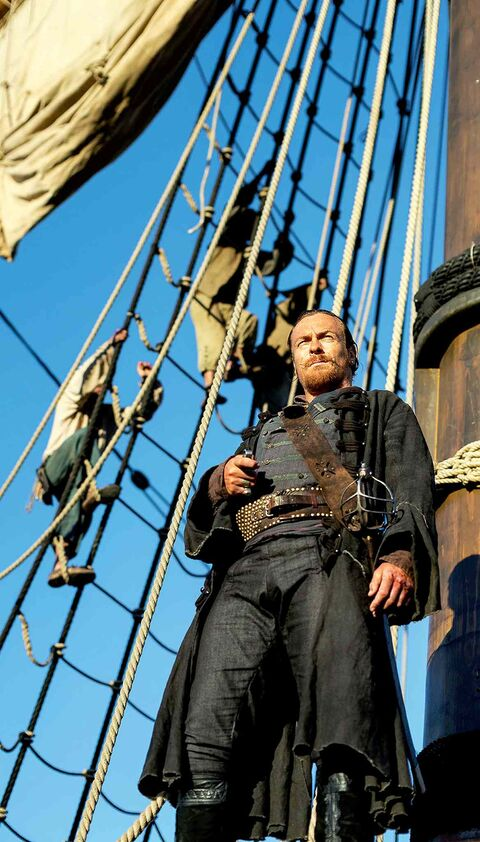 Toby Stephens as Capt. Flint.