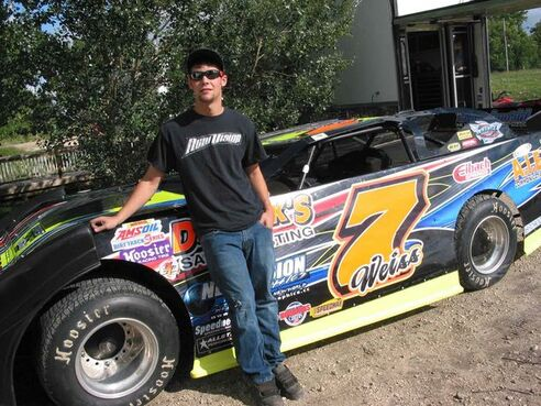 Ricky Weiss of Headingley and his family have been involved in car and truck racing at Red River Co-op Speedway for many years. He now races his Super Late Model car (shown here) there and as far south as Florida.